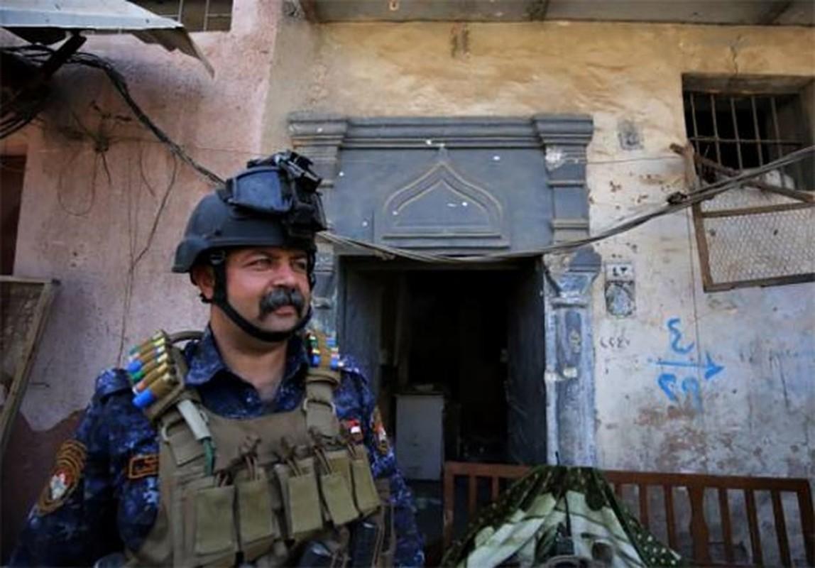 Anh: Quan doi Iraq thoc sau vao khu pho co Mosul-Hinh-3