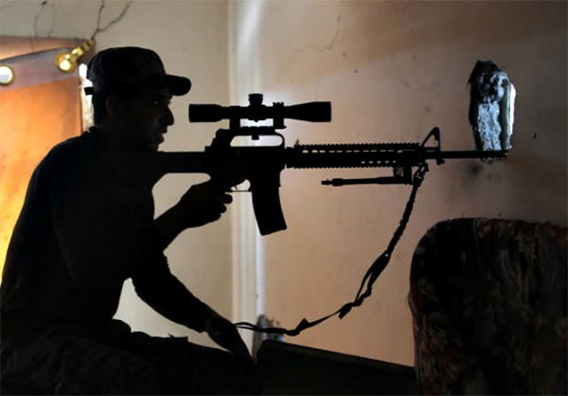 Anh: Quan doi Iraq thoc sau vao khu pho co Mosul-Hinh-7