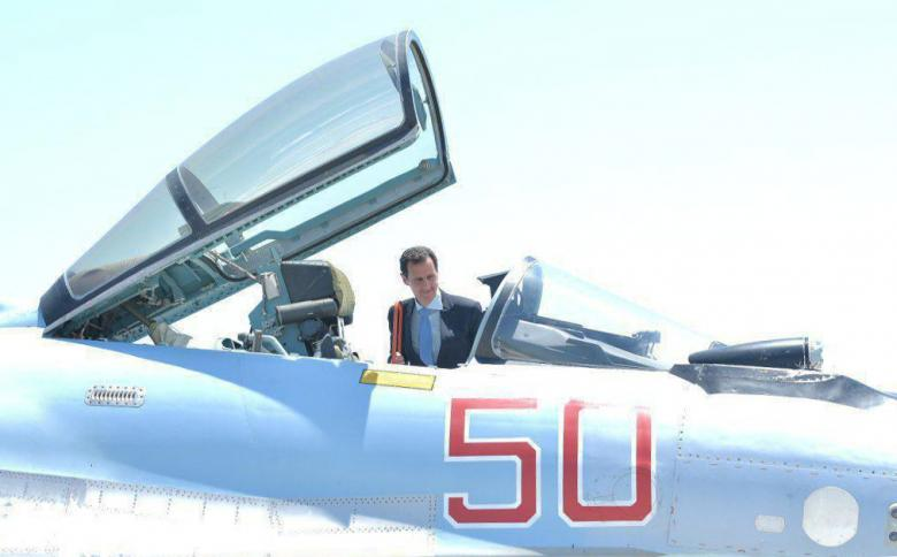 Anh: Tong thong Assad tham can cu khong quan cua Nga o Syria-Hinh-8