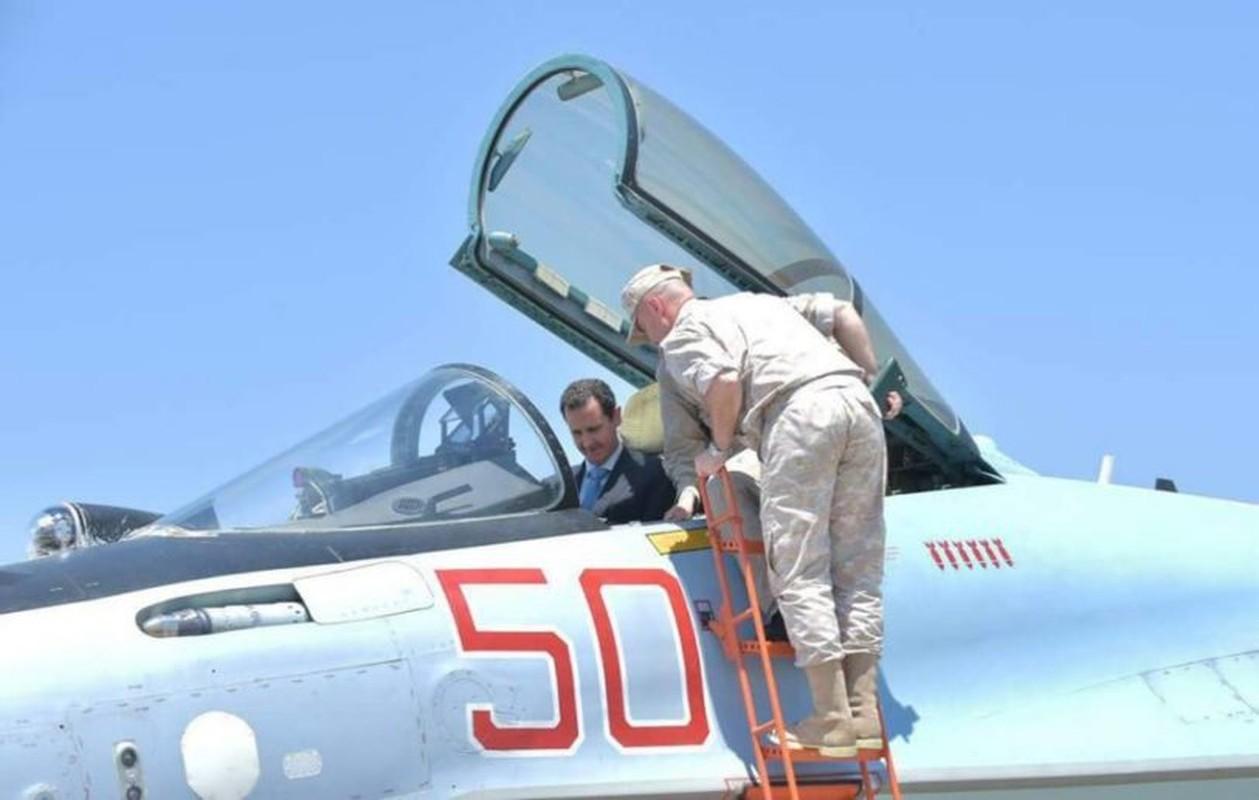 Anh: Tong thong Assad tham can cu khong quan cua Nga o Syria-Hinh-9
