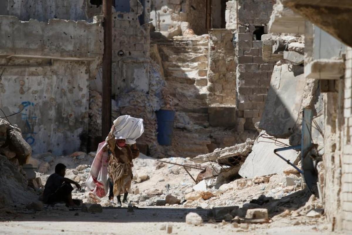 Dot nhap quan nguoi Kurd trong long thanh pho Aleppo-Hinh-10