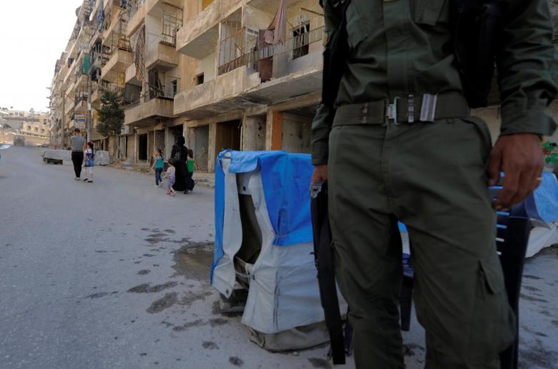 Dot nhap quan nguoi Kurd trong long thanh pho Aleppo-Hinh-7