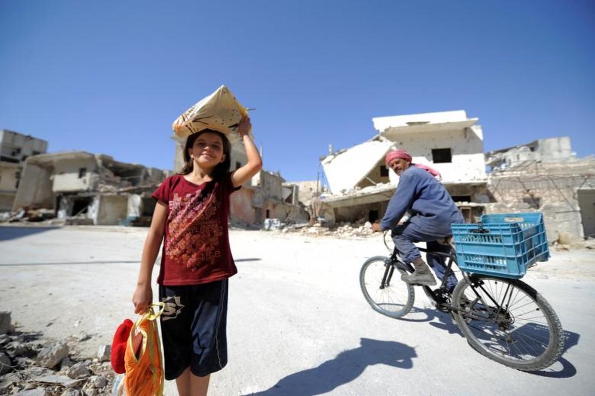 Dot nhap quan nguoi Kurd trong long thanh pho Aleppo