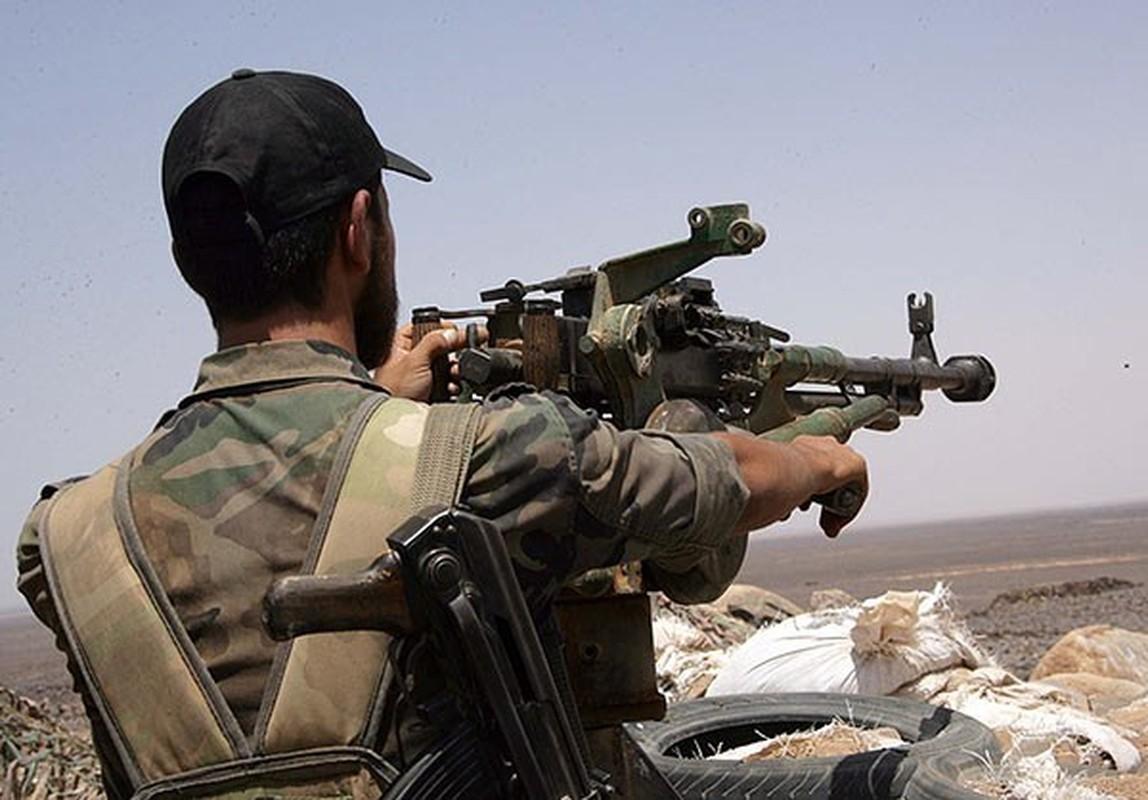 Anh: Quan doi Syria thang lon gan bien gioi voi Jordan