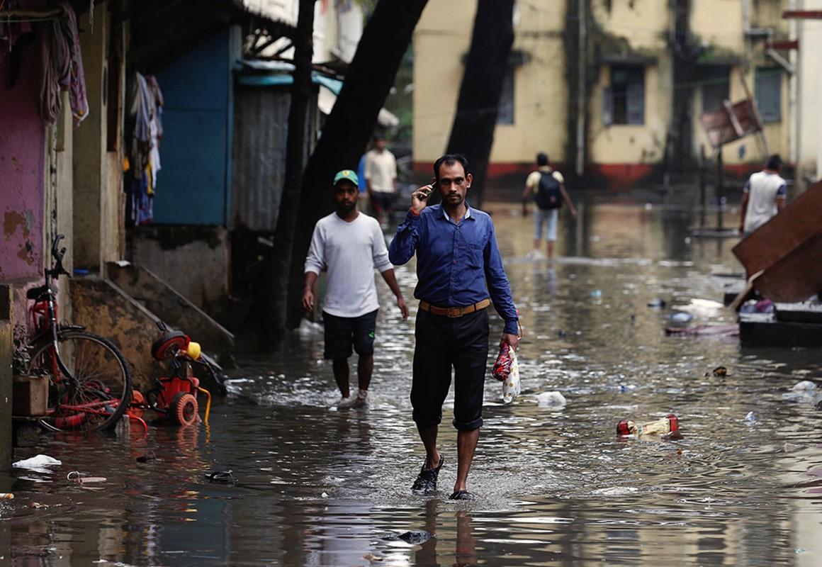 Thanh pho Mumbai hon loan do mua lu dai ngay-Hinh-2