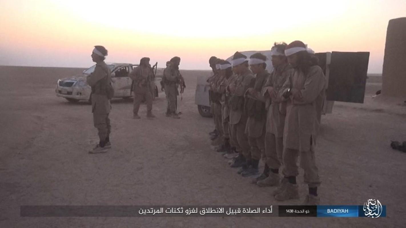 Anh: Khung bo IS tan cong du doi dan quan Iraq