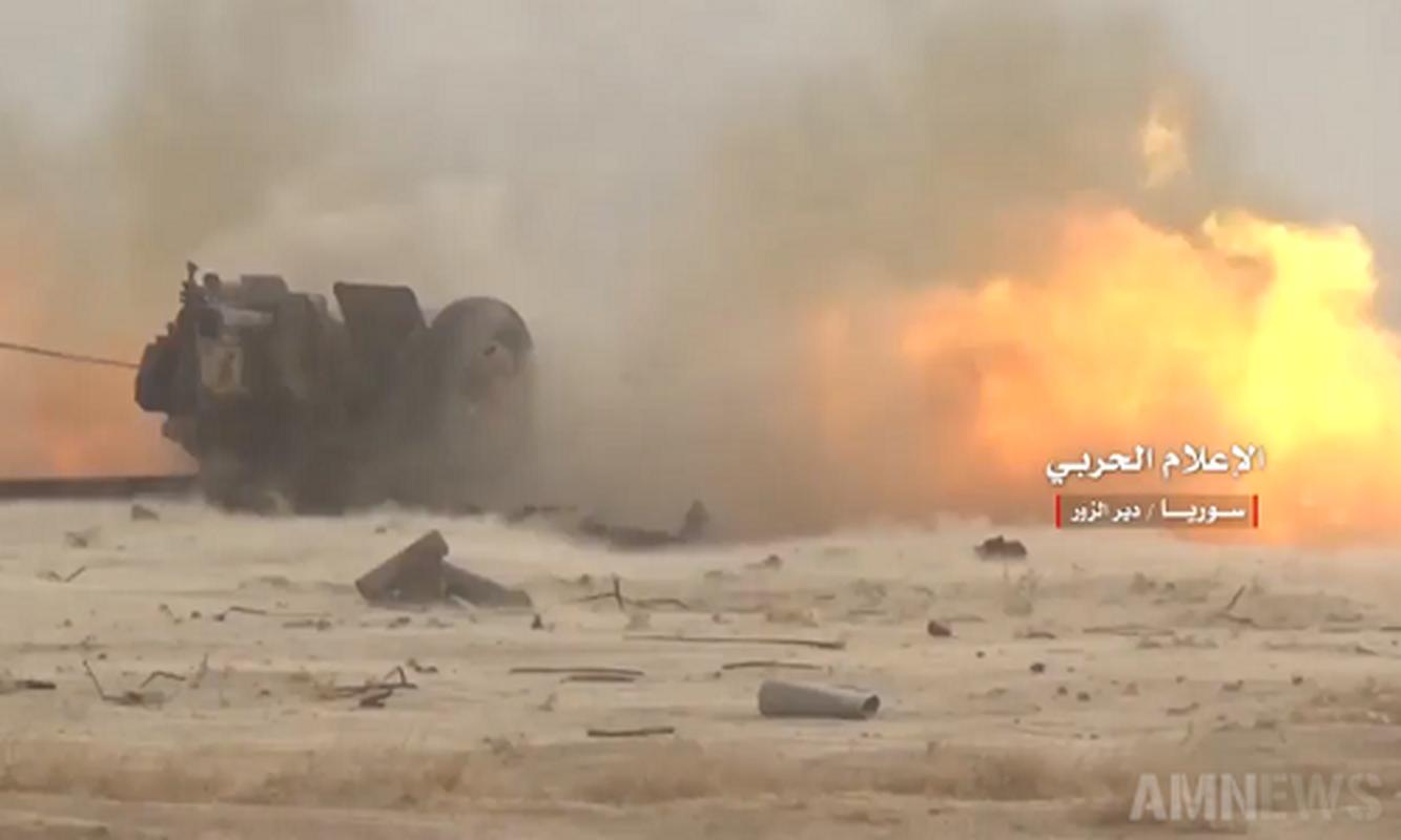 Video: Quan doi Syria tan cong dao Sakr o Deir Ezzor