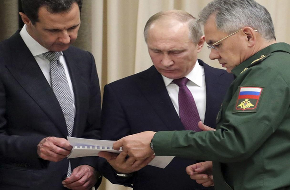 Cai bat tay chien thang cua Tong thong Putin va Tong thong Assad-Hinh-7