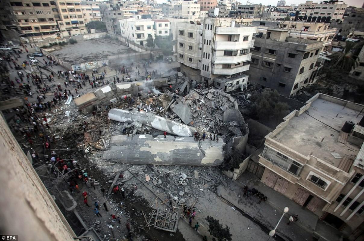 """Israel-Hamas doi dau, Dai Gaza hung du """"mua bom bao dan""""-Hinh-11"""