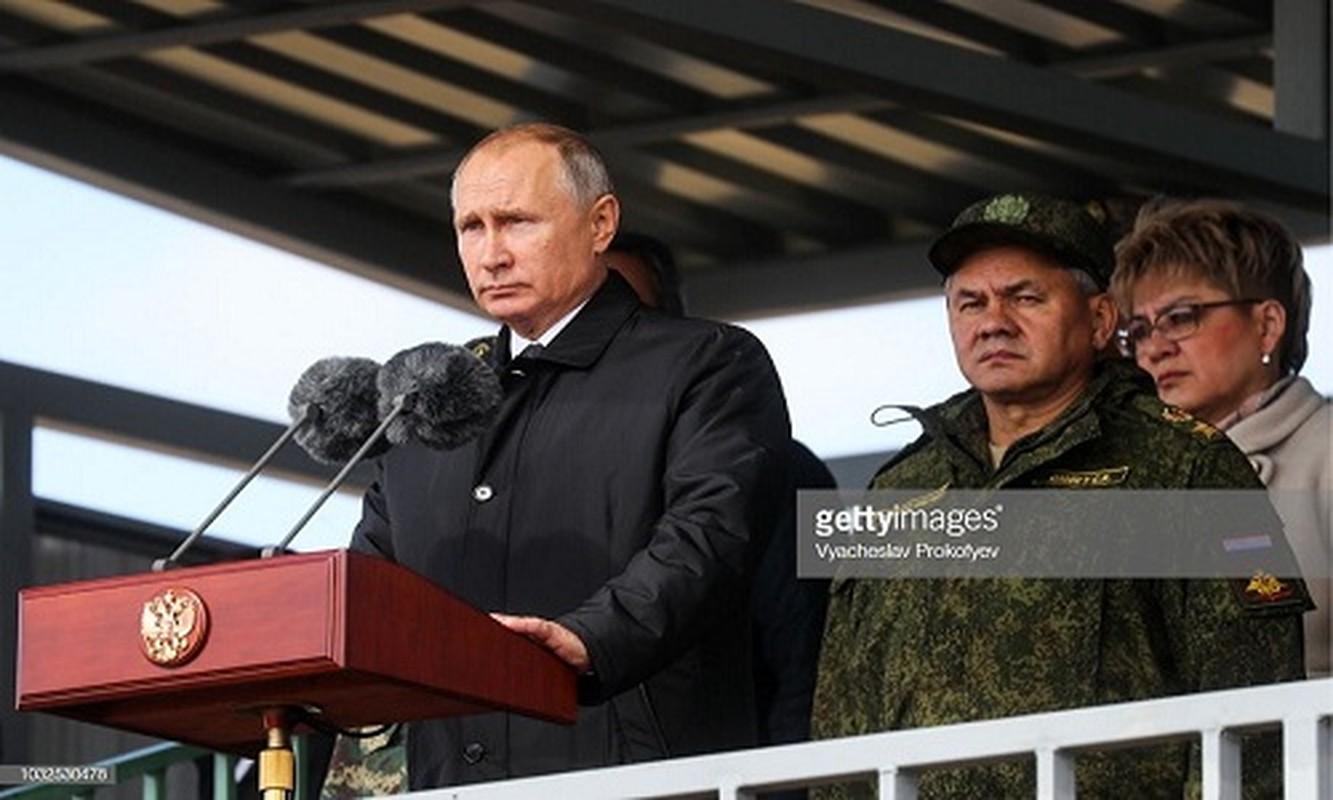 Tong thong Nga Putin da noi gi khi thi sat cuoc tap tran Vostok-2018?