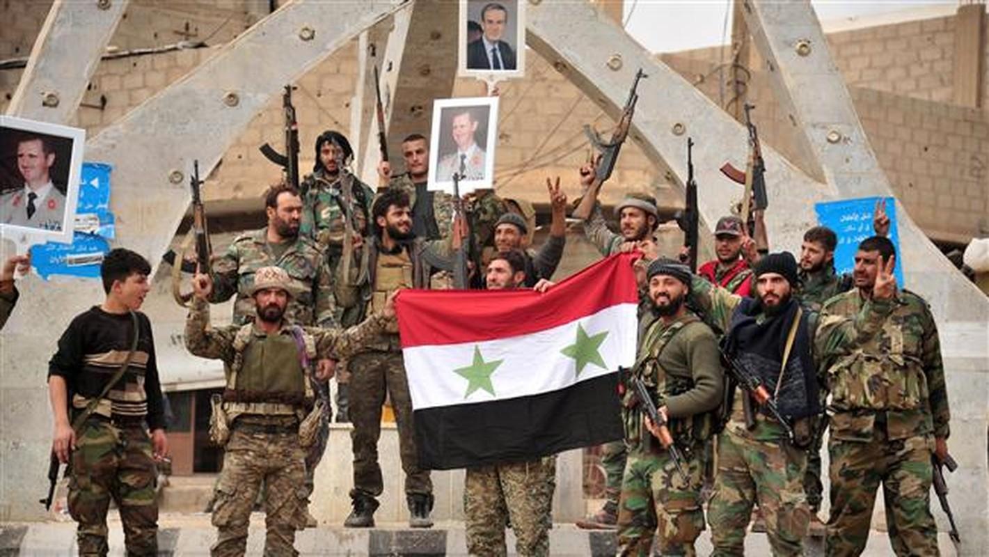"""Quan doi Syria tich thu kho vu khi """"khung"""" cua phien quan o Daraa-Hinh-9"""