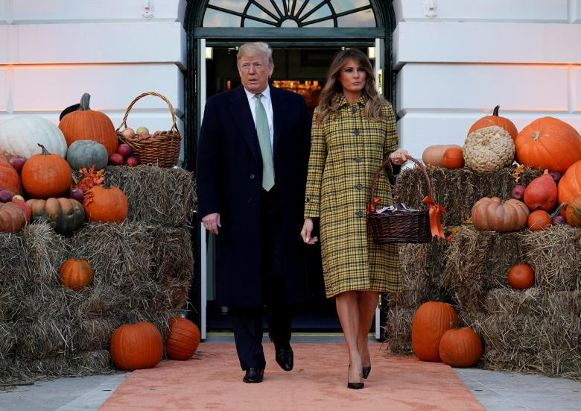 Ma mi le hoi Halloween cua ong Trump tai Nha Trang