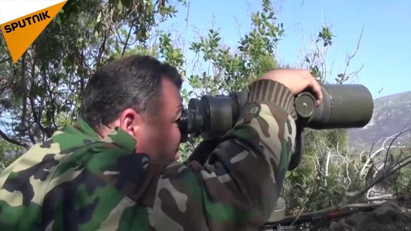 Khung bo phan cong, Syria ton that nang o chien truong Tay Bac
