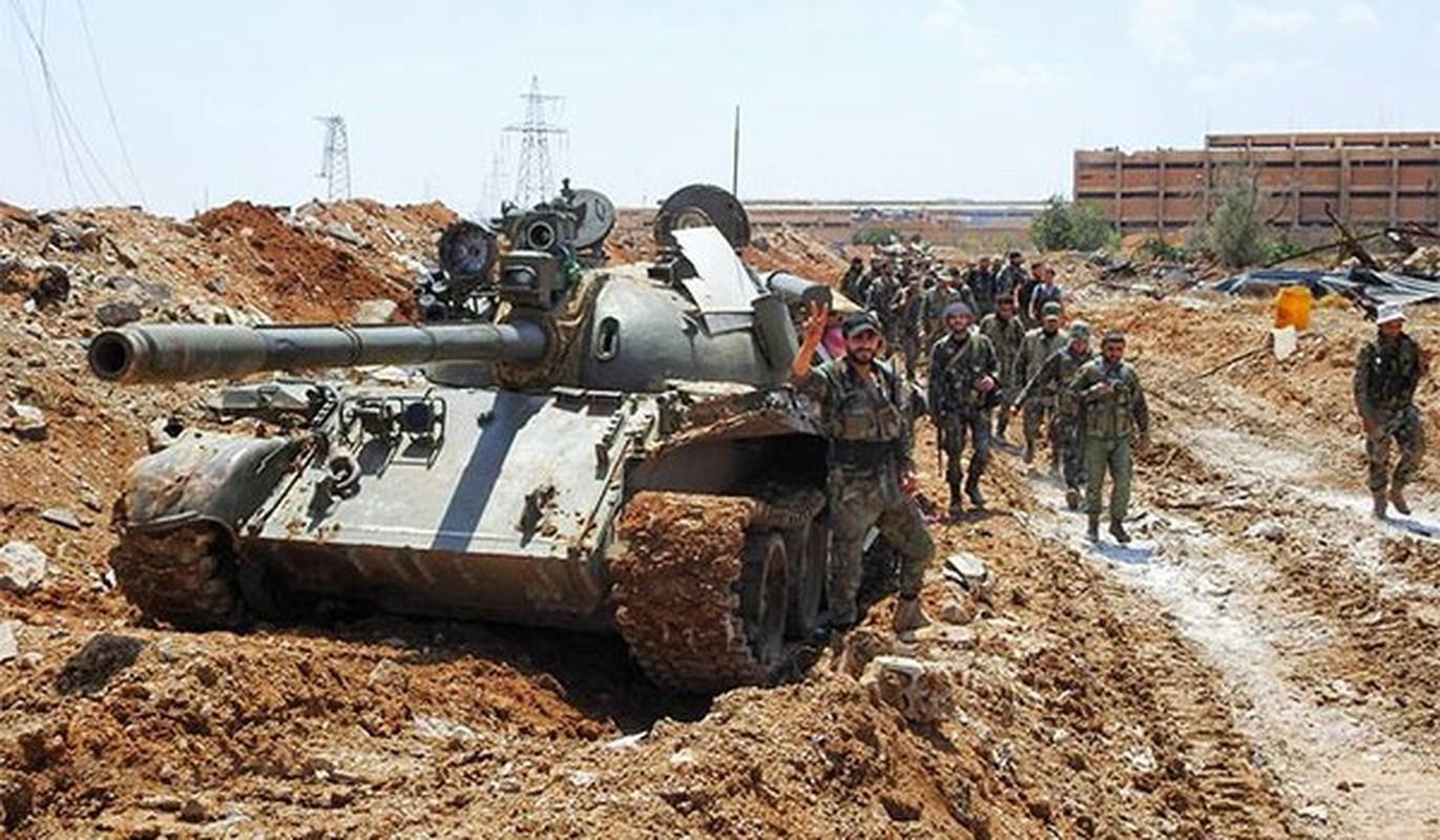 """Sau al-Safa, Quan doi Syria sap """"thanh trung"""" IS tai Dong Deir Ezzor"""