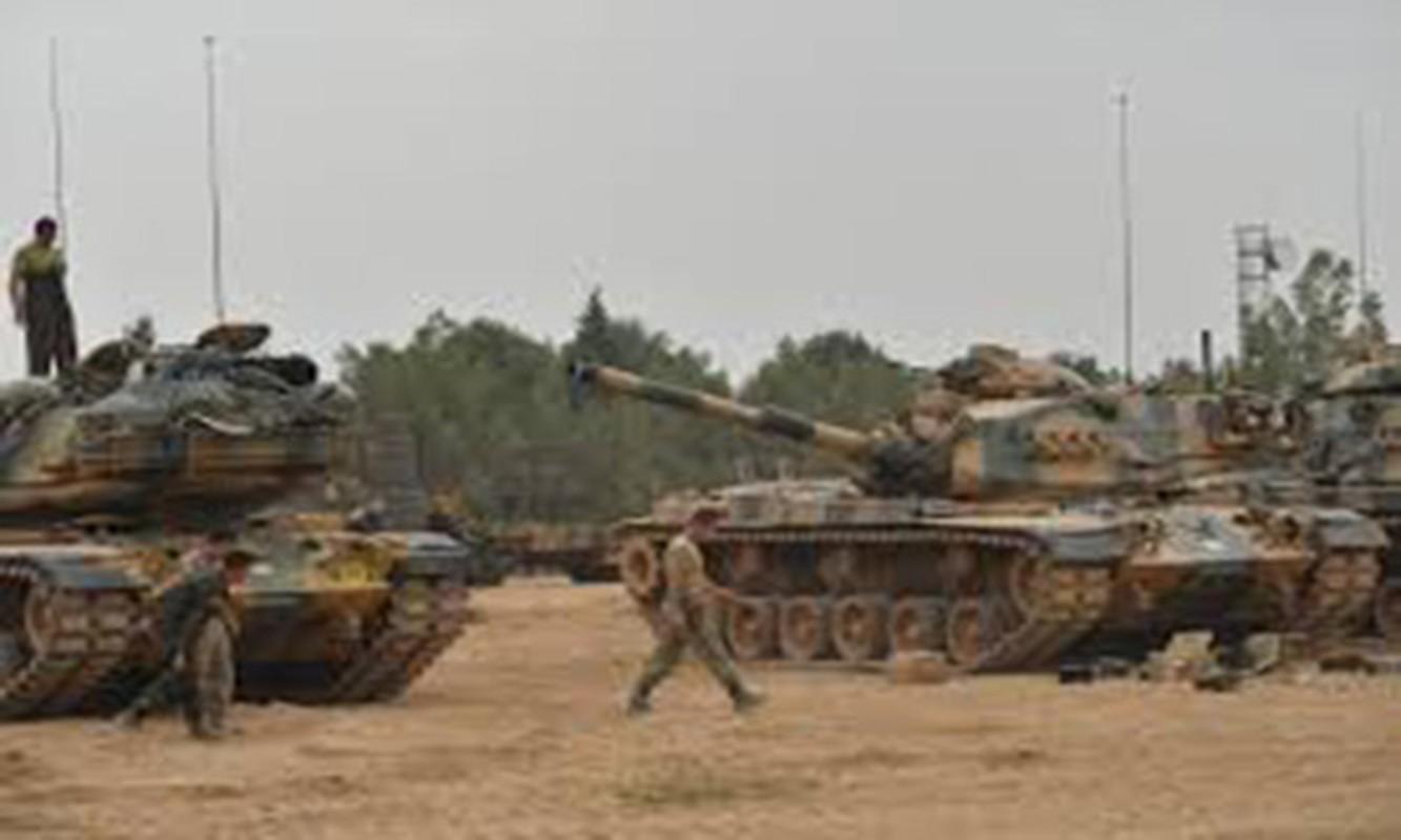 Tho Nhi Ky ap sat bien gioi Syria, sap khai chien voi nguoi Kurd-Hinh-4