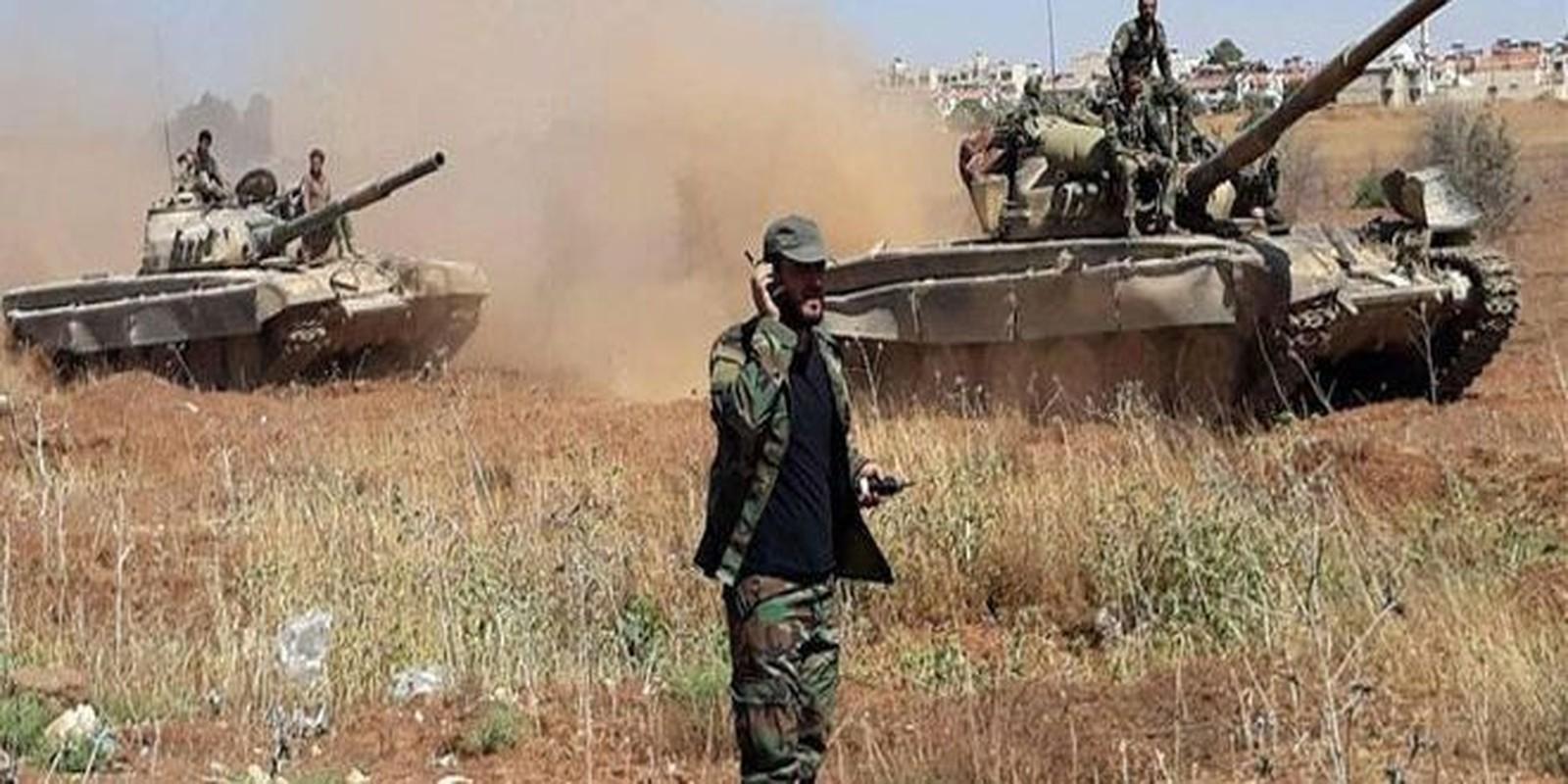"""Hoc phao binh Nga, Syria doi """"bao lua"""" huy diet khung bo HTS"""