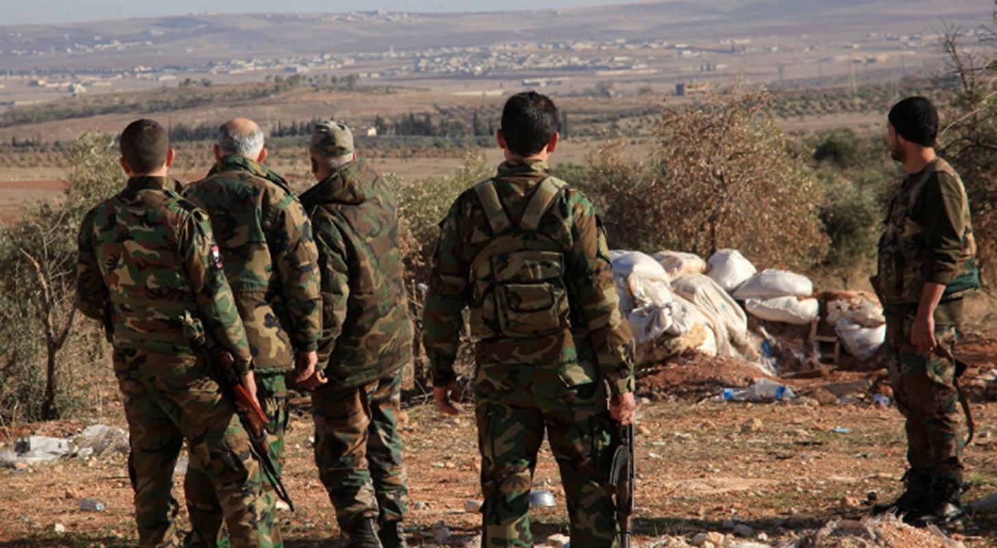 Phien quan IS phuc kich, tan sat linh Syria tai Homs-Hinh-2