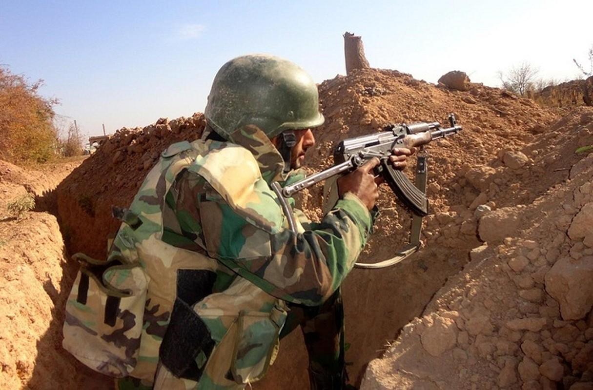 Phien quan IS phuc kich, tan sat linh Syria tai Homs
