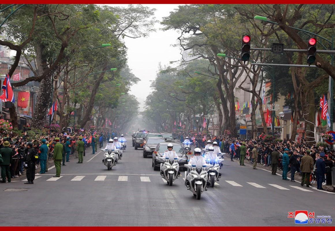 Ngay dau Chu tich Kim Jong-un den Viet Nam tren bao Trieu Tien-Hinh-6
