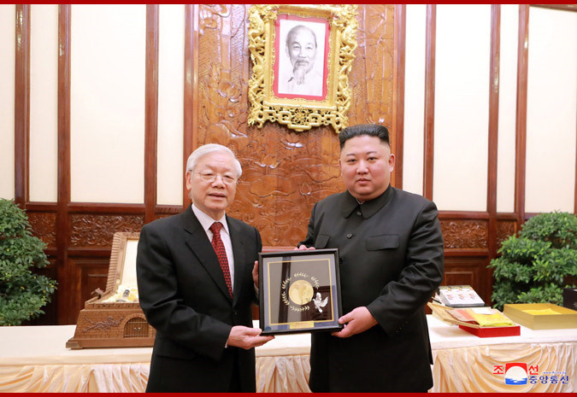 Chuyen tham Viet Nam cua Chu tich Kim Jong-un qua goc may KCNA-Hinh-4