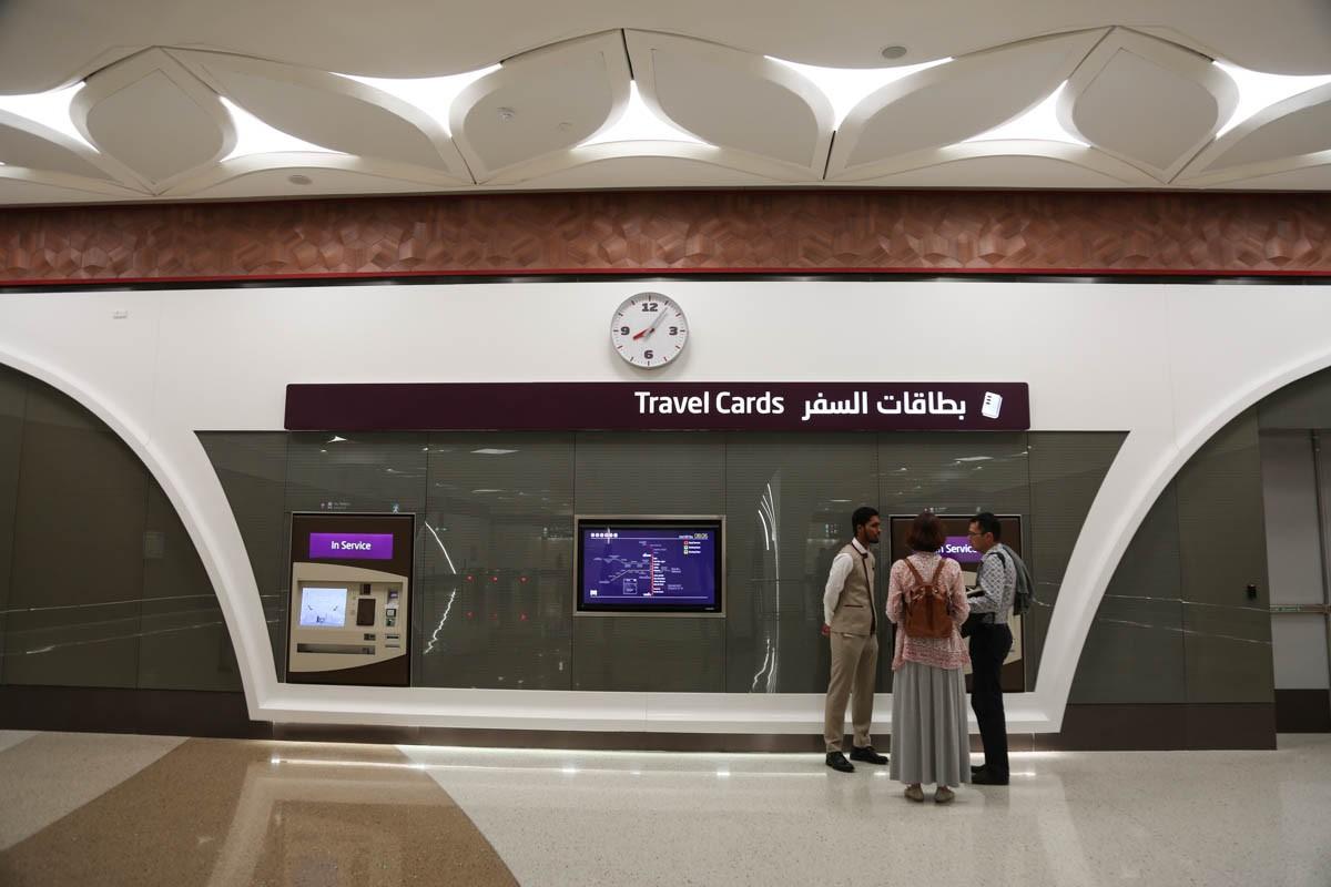 Nguoi dan thu do Qatar thich thu di tau dien ngam dau tien-Hinh-11