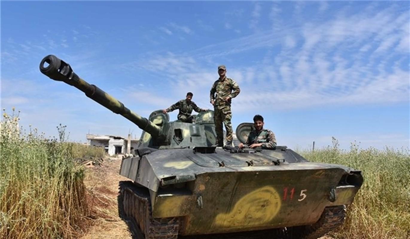 Thua thang xoc toi, Syria sap quet sach khung bo HTS o Hama-Idlib