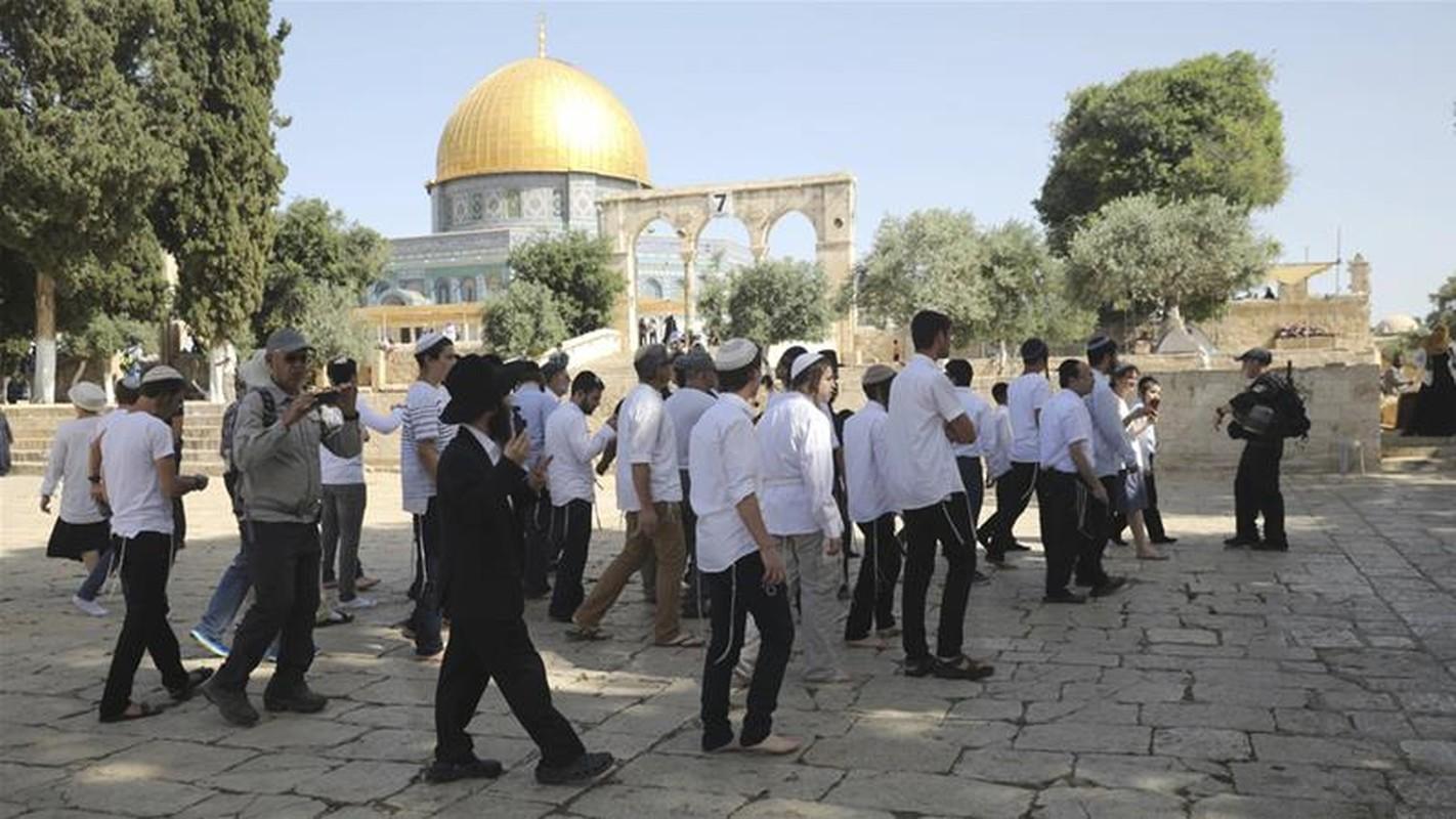 Thanh dia Jerusalem - tam diem cuoc dung do moi Israel-Palestine