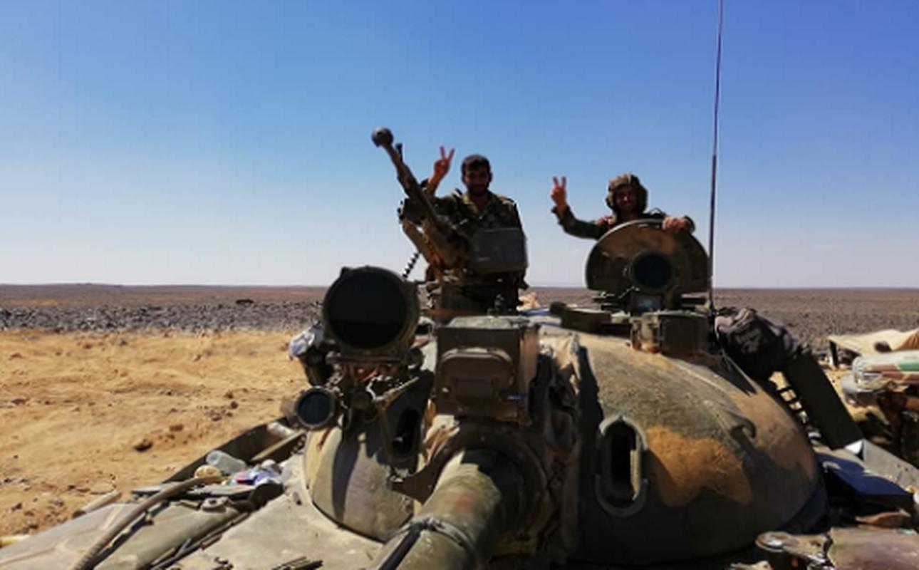 Chien truong Hama-Idlib nong ray, Quan doi Syria