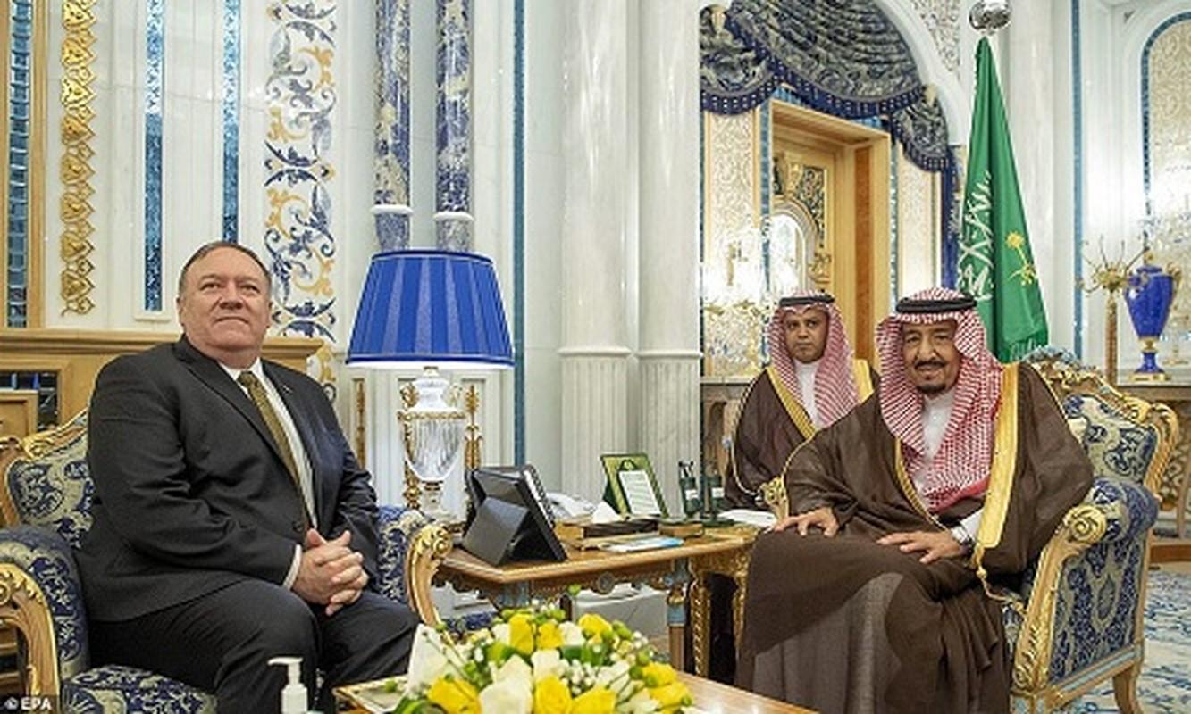 Giua cang thang voi Iran, Ngoai truong My Mike Pompeo tham Saudi Arabia-Hinh-2