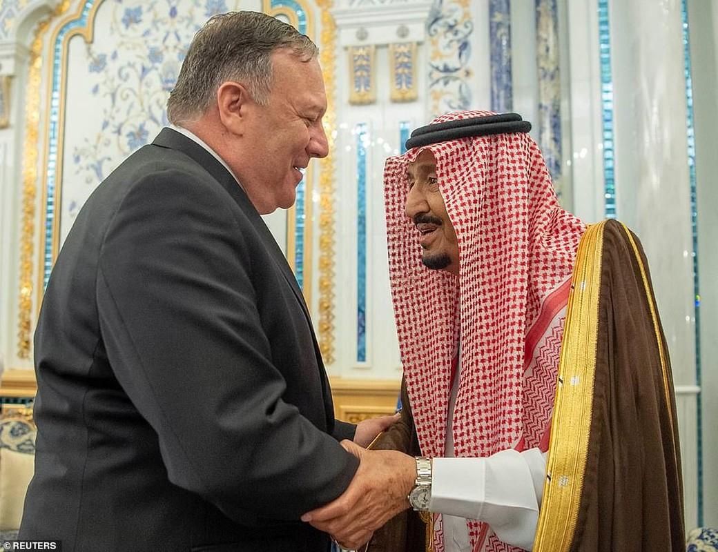 Giua cang thang voi Iran, Ngoai truong My Mike Pompeo tham Saudi Arabia-Hinh-5