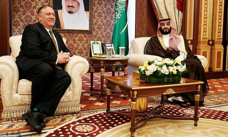 Giua cang thang voi Iran, Ngoai truong My Mike Pompeo tham Saudi Arabia-Hinh-6