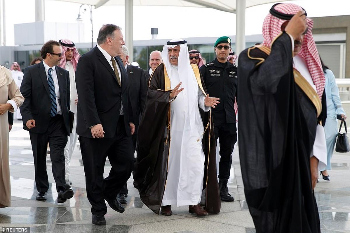 Giua cang thang voi Iran, Ngoai truong My Mike Pompeo tham Saudi Arabia-Hinh-8