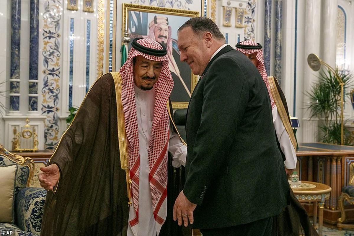 Giua cang thang voi Iran, Ngoai truong My Mike Pompeo tham Saudi Arabia