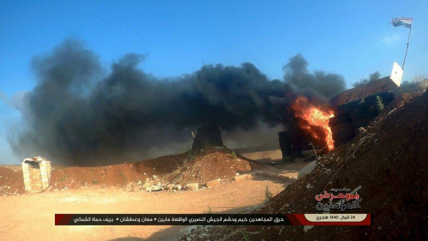 Khung bo danh up, tan sat binh si Syria tren chien truong Idlib-Hinh-2