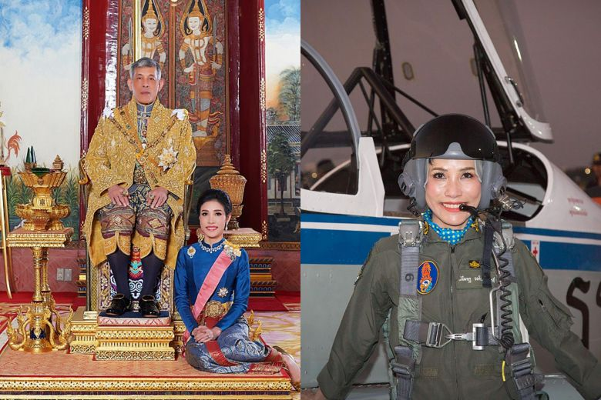 Ba Sineenat that sung ngay khi tro thanh Hoang quy phi Thai Lan?