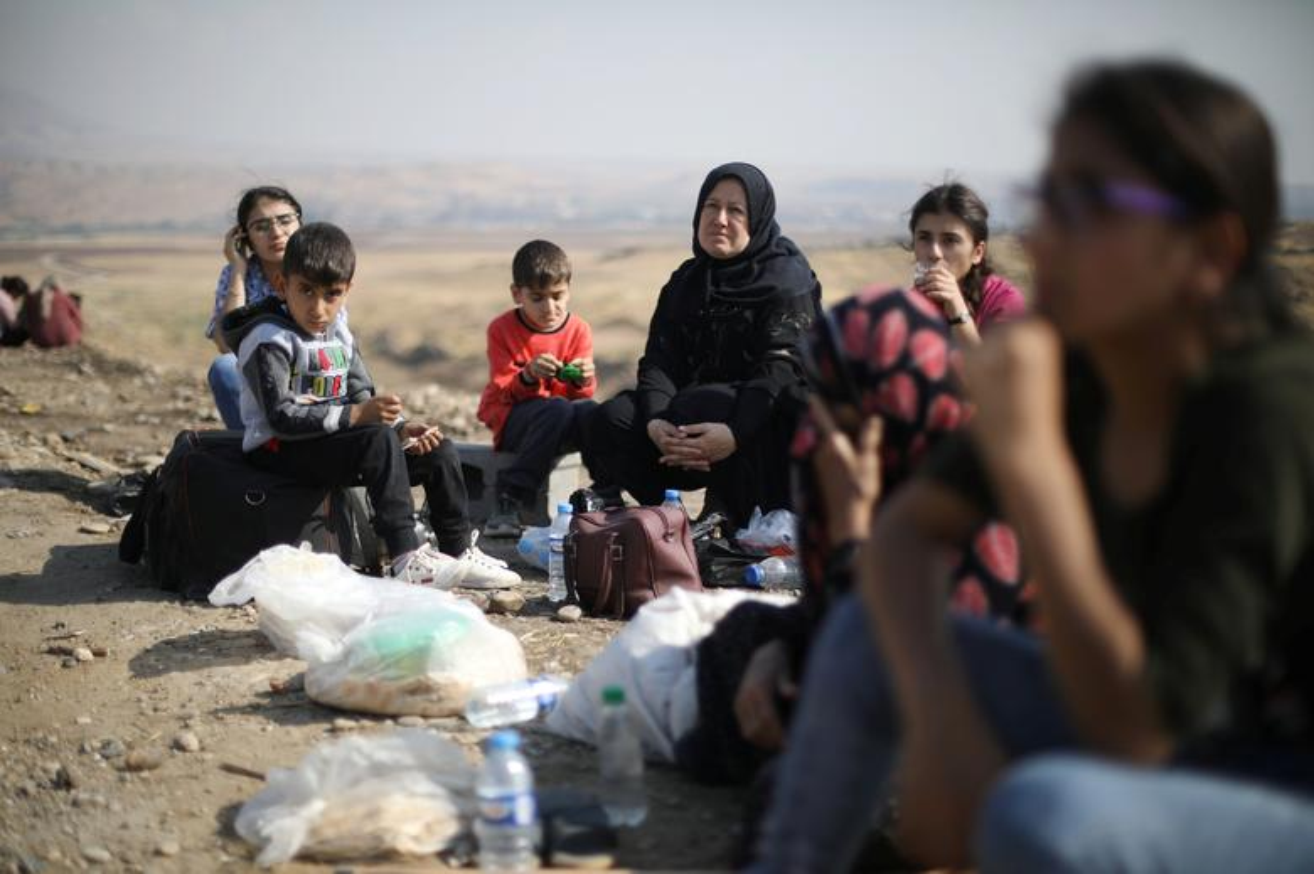 Cuoc song nguoi Kurd chay loan o Syria, ai thay cung xot xa-Hinh-2
