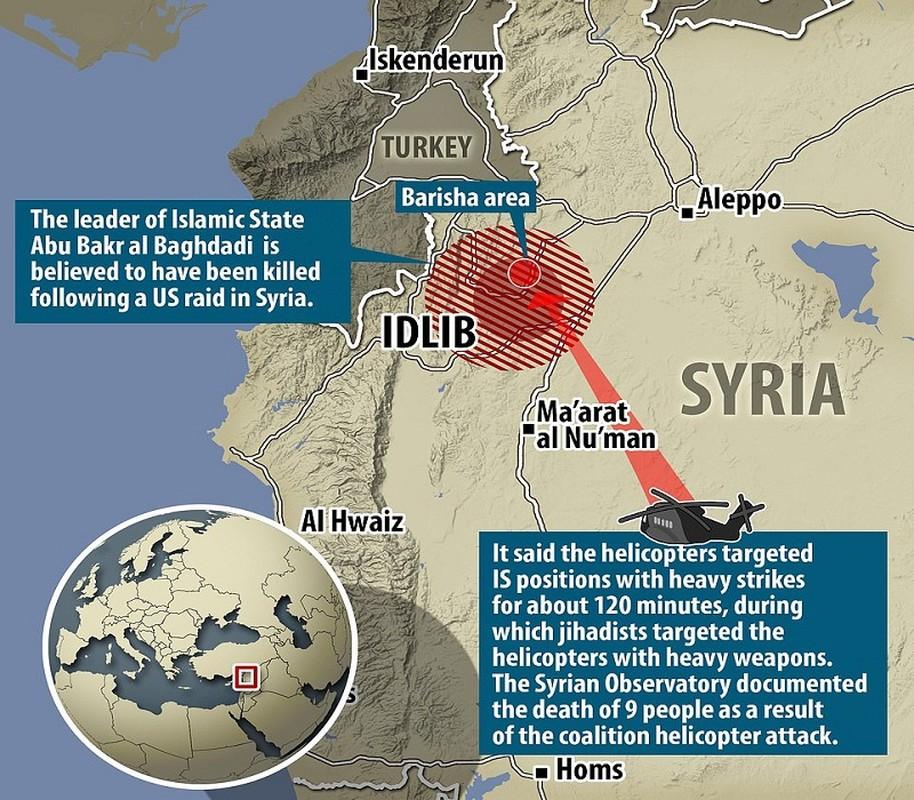 """Tan hoang hien truong My """"huy diet"""" trum khung bo IS al-Baghdadi"""