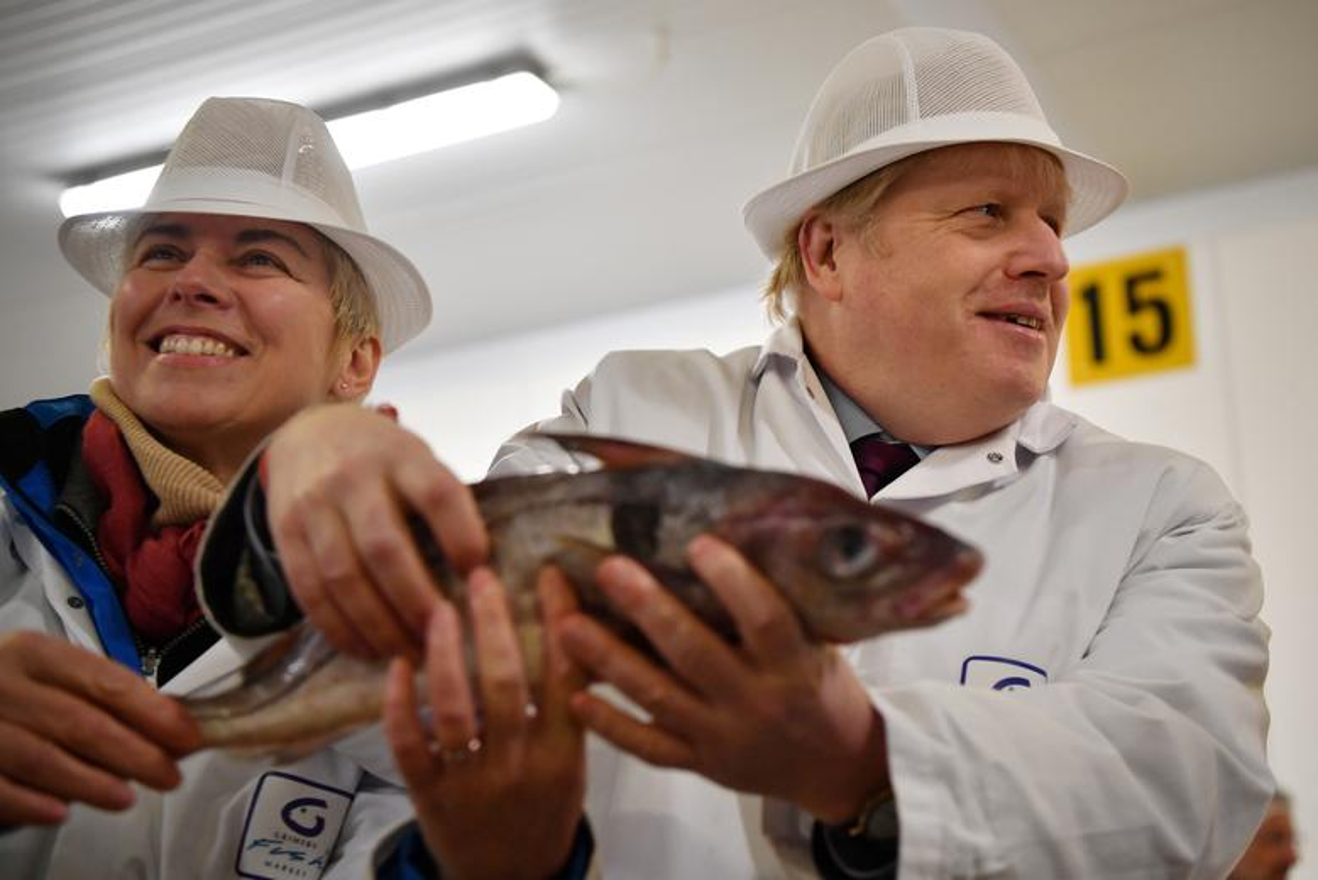 Anh: Thu tuong Anh Boris Johnson dich than di giao sua truoc tong tuyen cu-Hinh-25