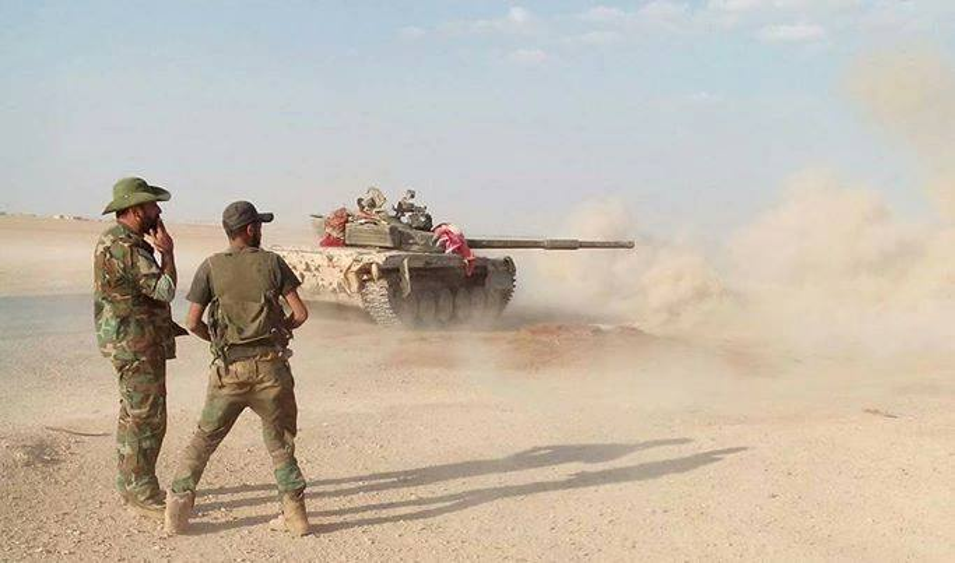 Can canh doan xe quan su My hung hau tien vao Syria tu Iraq-Hinh-8