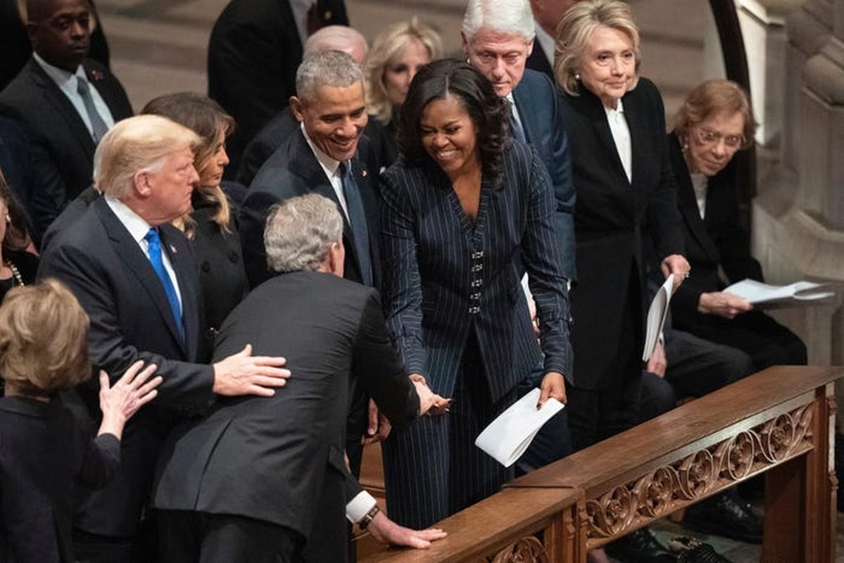An tuong tinh ban cua cuu Tong thong My Bush va ba Michelle Obama-Hinh-11