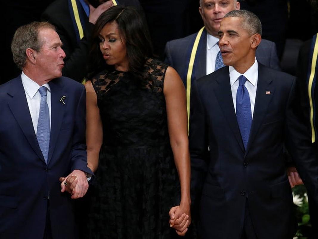 An tuong tinh ban cua cuu Tong thong My Bush va ba Michelle Obama-Hinh-4