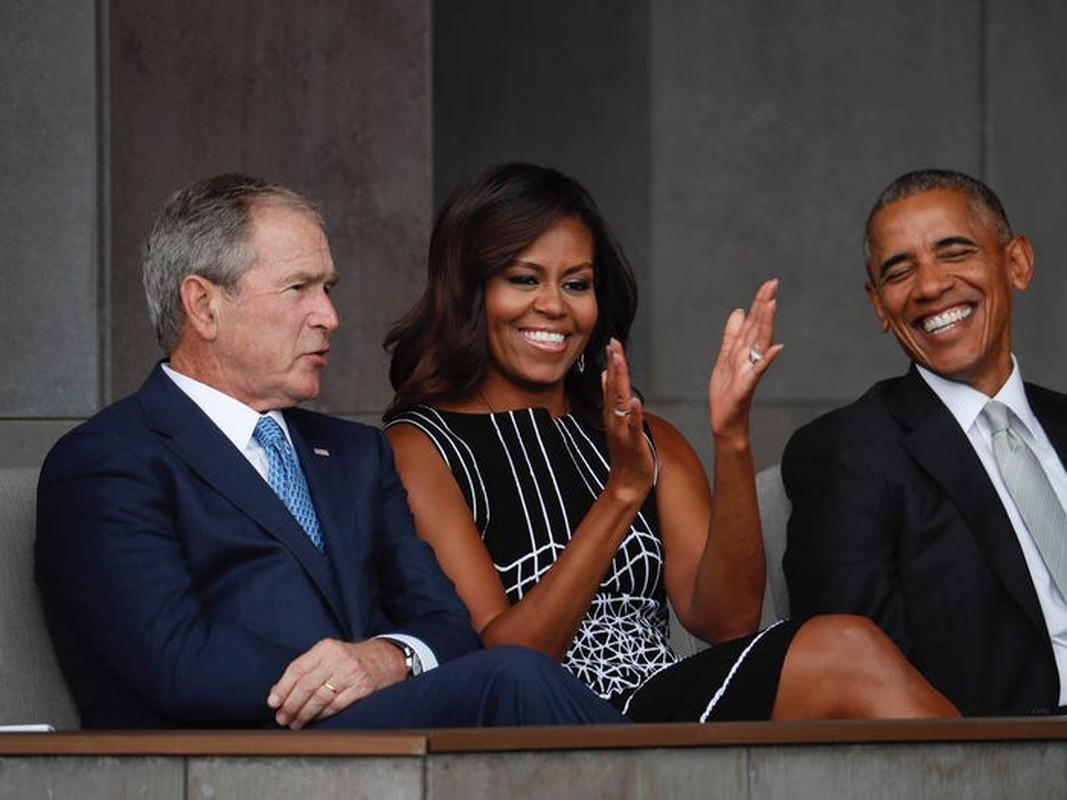 An tuong tinh ban cua cuu Tong thong My Bush va ba Michelle Obama-Hinh-9