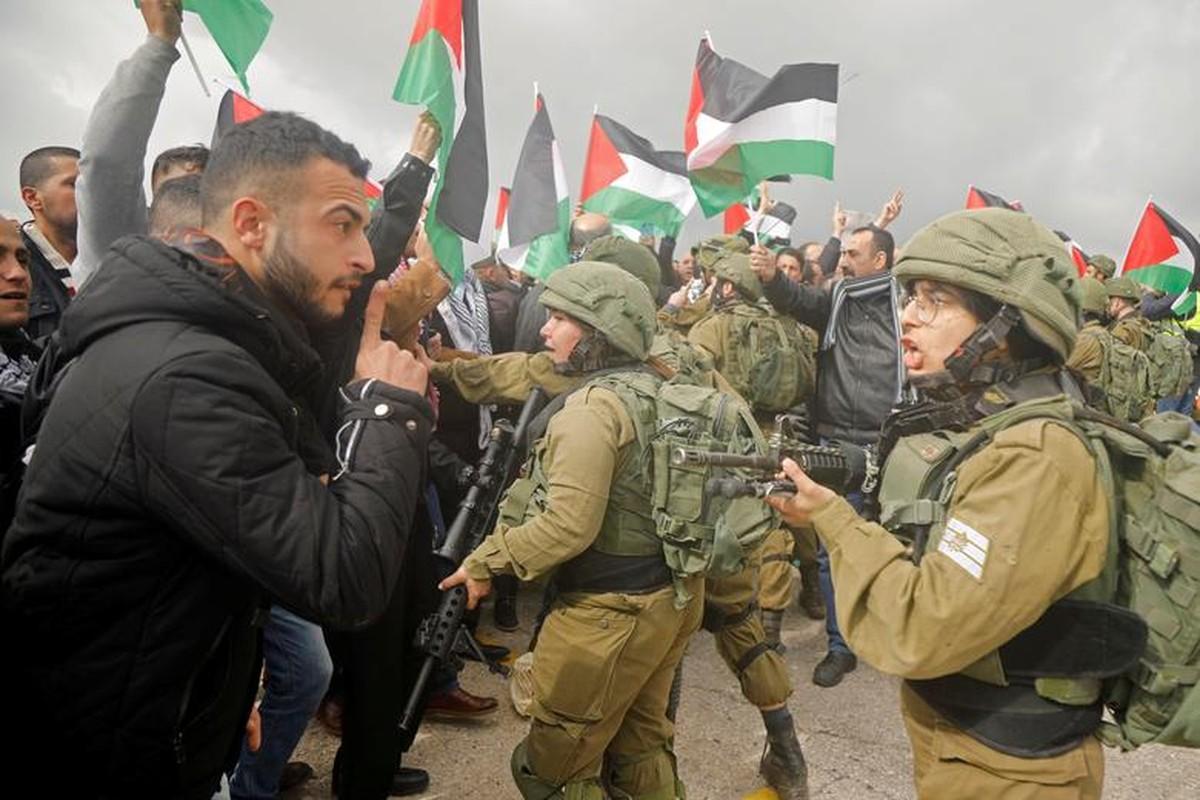 "Palestine bieu tinh du doi phan doi ""thoa thuan the ky"" cua ong Trump-Hinh-8"