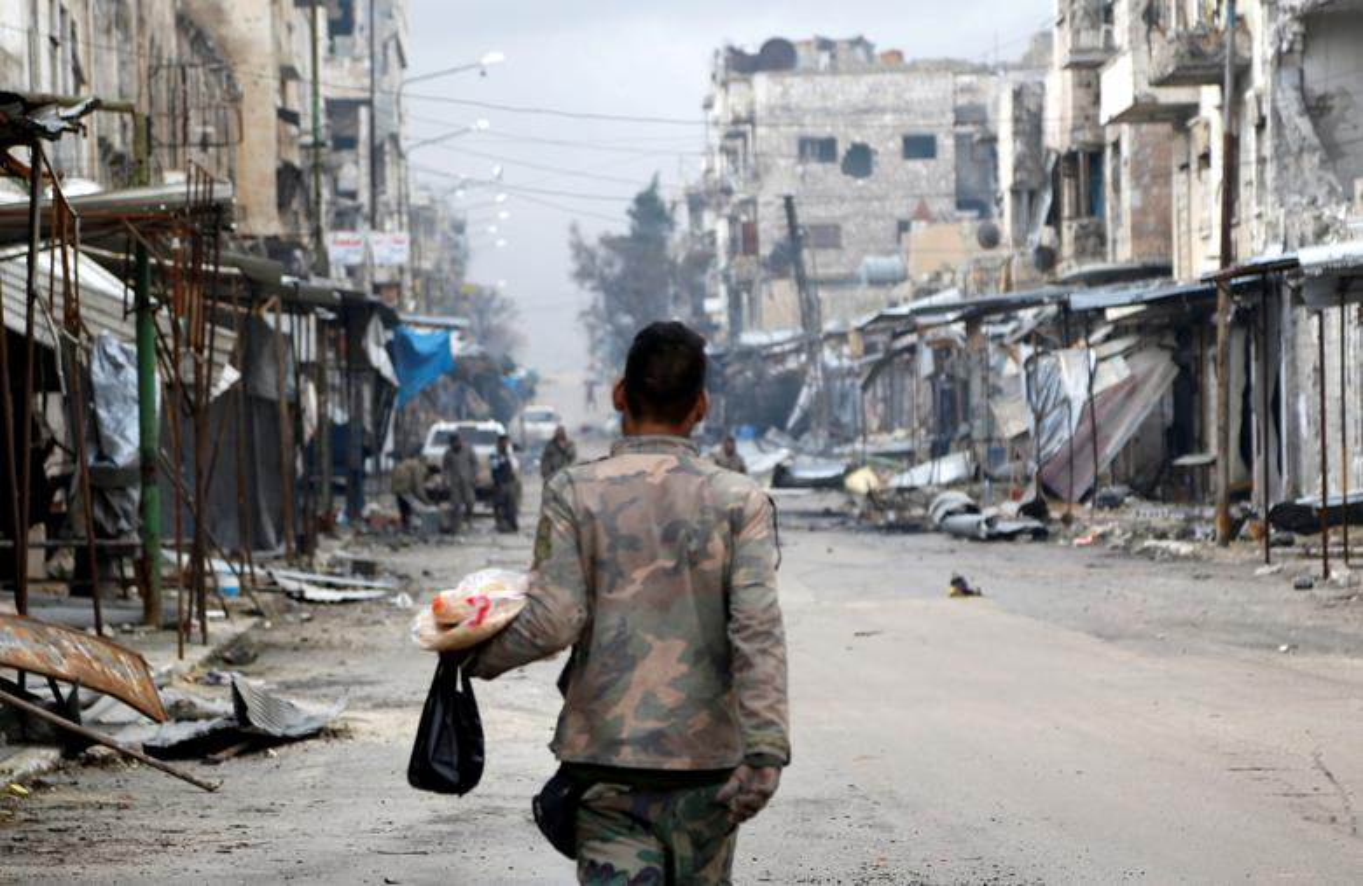 Dot nhap thanh pho chien luoc vua duoc Quan doi Syria giai phong-Hinh-10