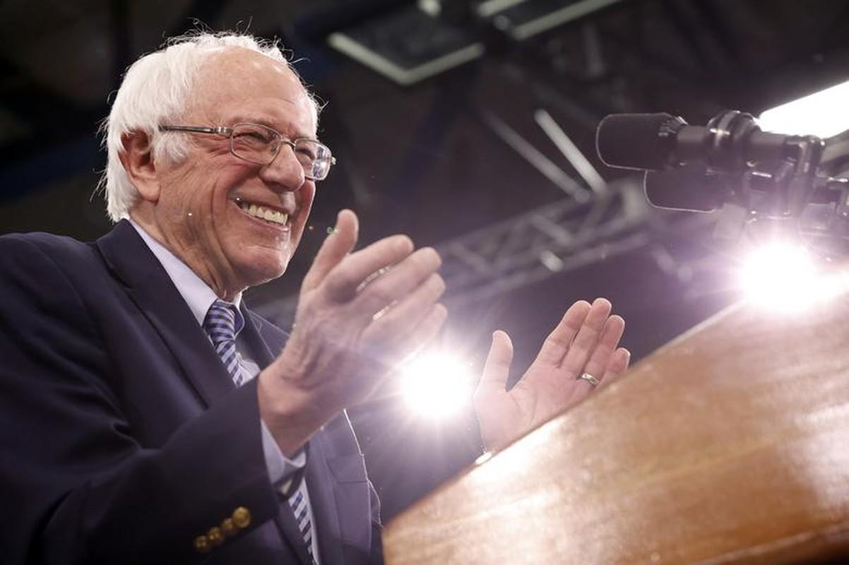 Anh: Ung vien Tong thong My Bernie Sanders thang lon tai New Hampshire-Hinh-2