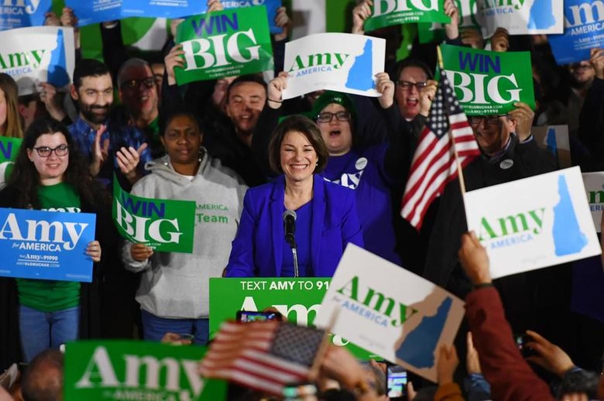 Anh: Ung vien Tong thong My Bernie Sanders thang lon tai New Hampshire-Hinh-6