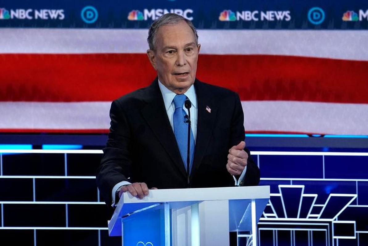 Anh: Ung vien Tong thong My Michael Bloomberg tranh luan truc tiep tren truyen hinh-Hinh-2