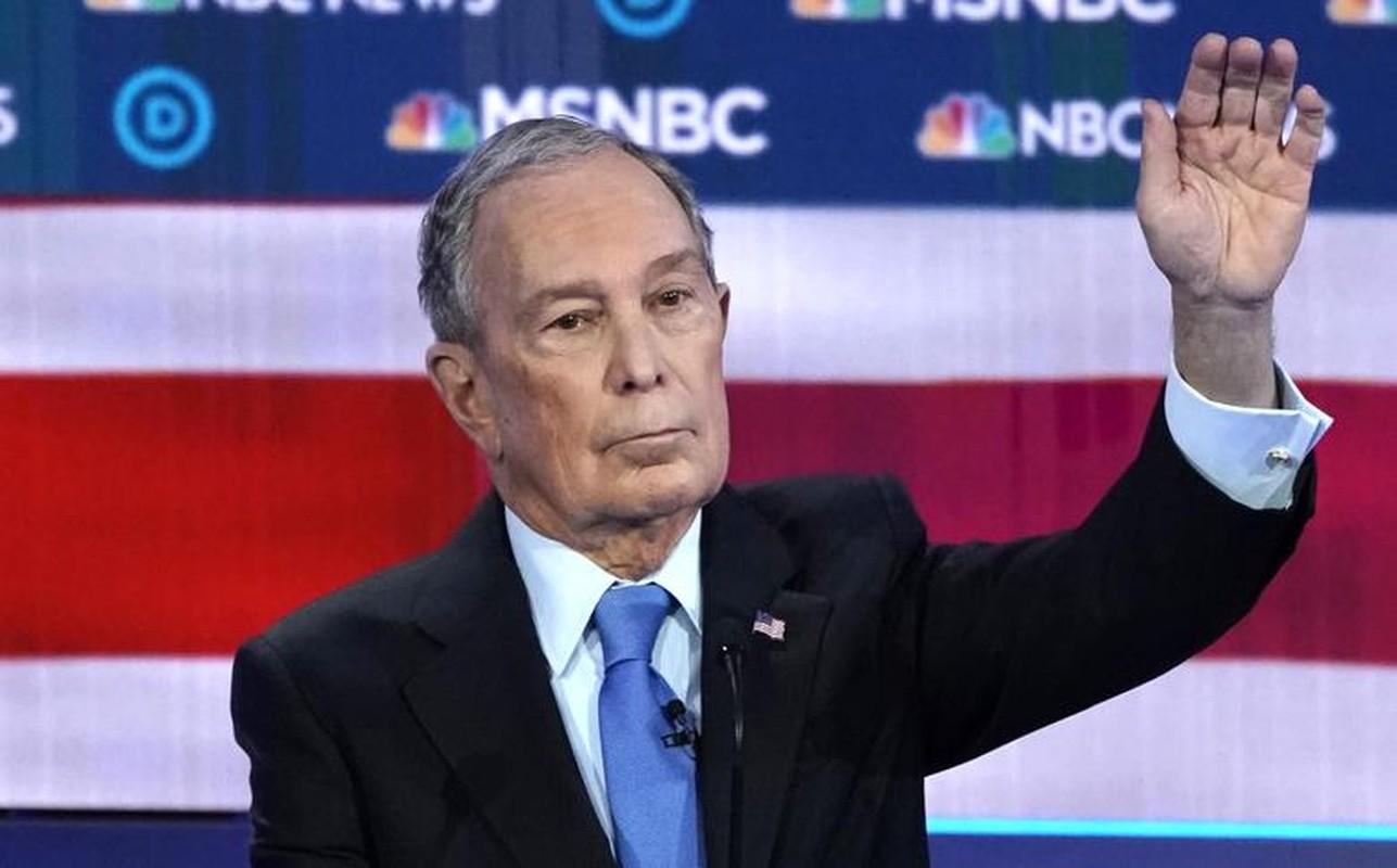 Anh: Ung vien Tong thong My Michael Bloomberg tranh luan truc tiep tren truyen hinh-Hinh-4