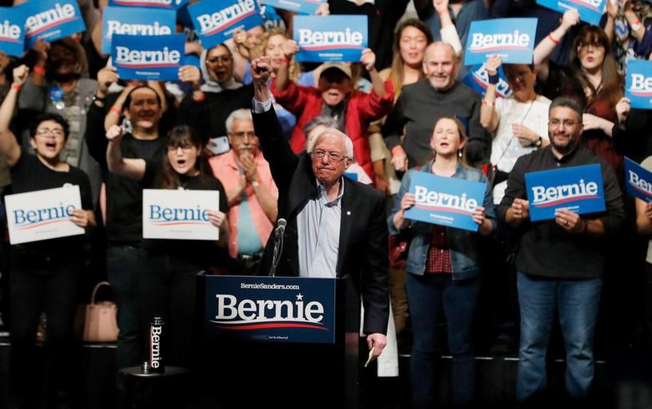 Anh: Ung vien Tong thong My Bernie Sanders lai thang lon tai Nevada-Hinh-2