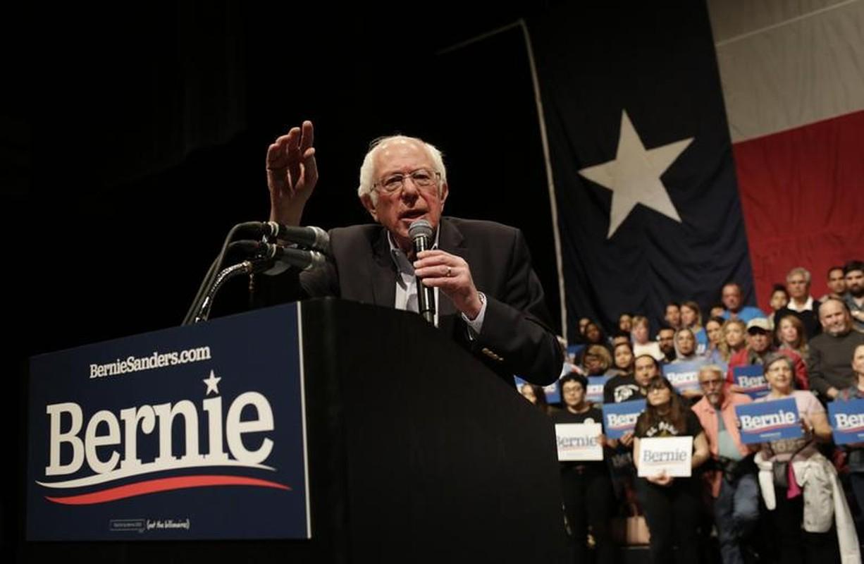 Anh: Ung vien Tong thong My Bernie Sanders lai thang lon tai Nevada-Hinh-3